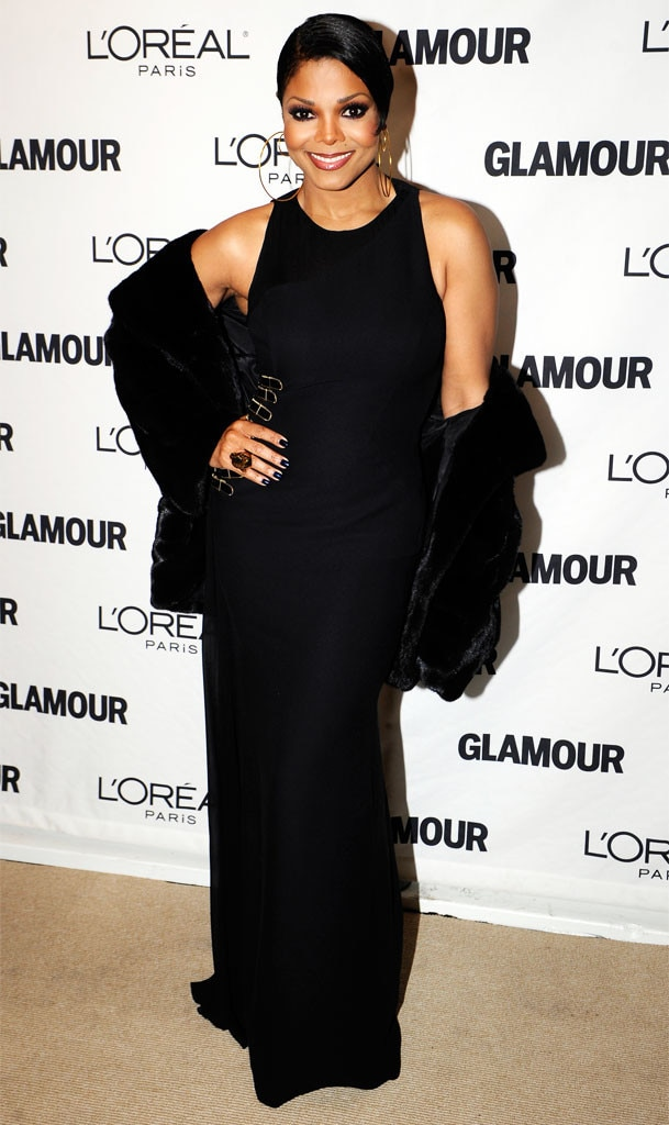 Janet Jackson, Glamour Women of the Year awards, Fashion