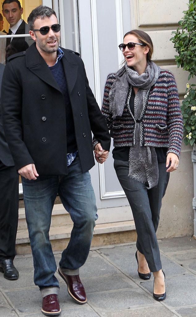 Ben Affleck, Jennifer Garner, 2012