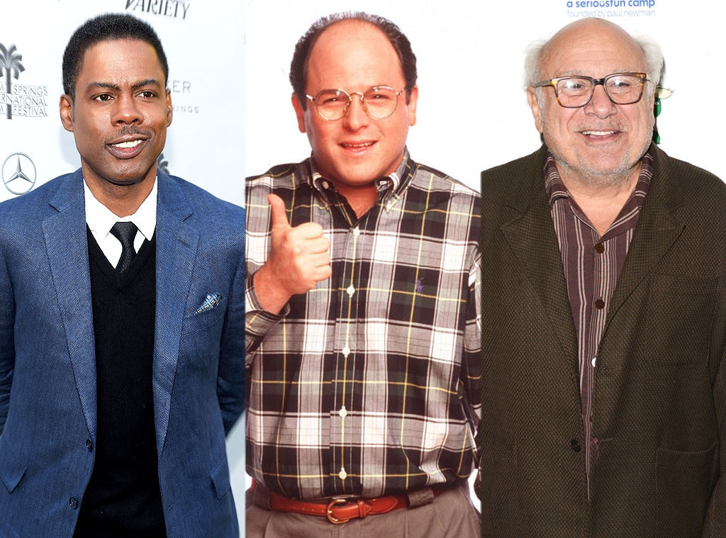 Danny DeVito, Chris Rock and More as George on  Seinfeld  - Jason Alexander  revealed  Chris Rock ,  Danny DeVito ,  Larry Miller ,  Nathan Lane  and more famous faces were all up for his role on  Seinfeld  before he got it.