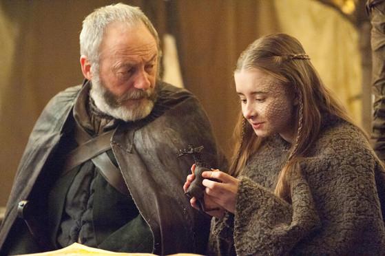 Game of Thrones, Liam Cunningham, Kerry Ingram