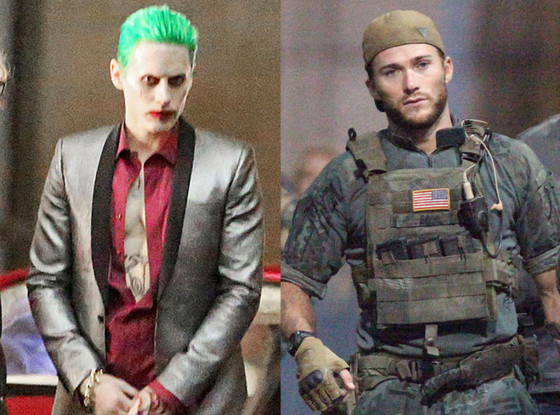 Jared Leto, Scott Eastwood, Suicide Squad