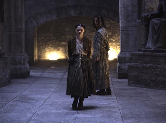 Game of Thrones, Tom Wlaschiha, Maisie Williams