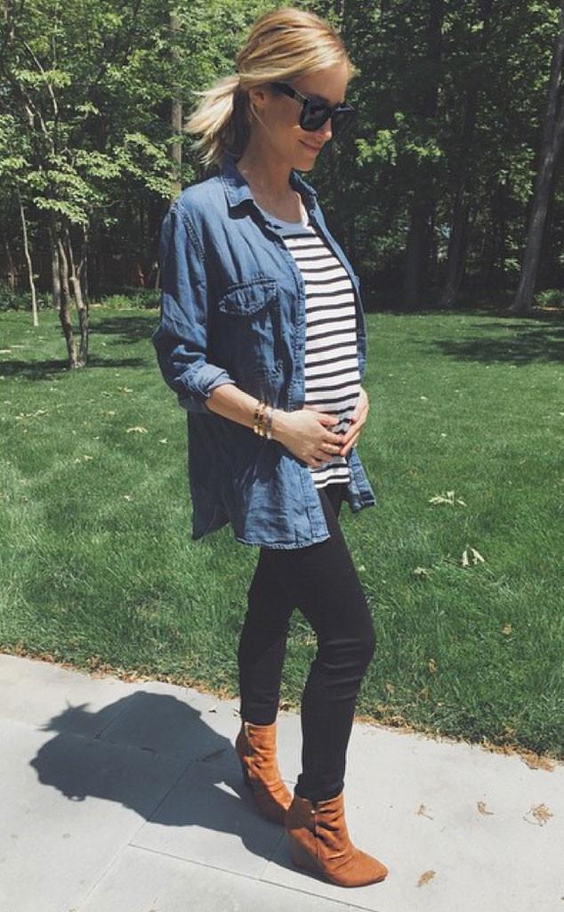Kristin Cavallari, Baby Bump