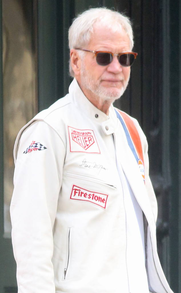 David Letterman, Beard **do not post till 6pm PST 6/4