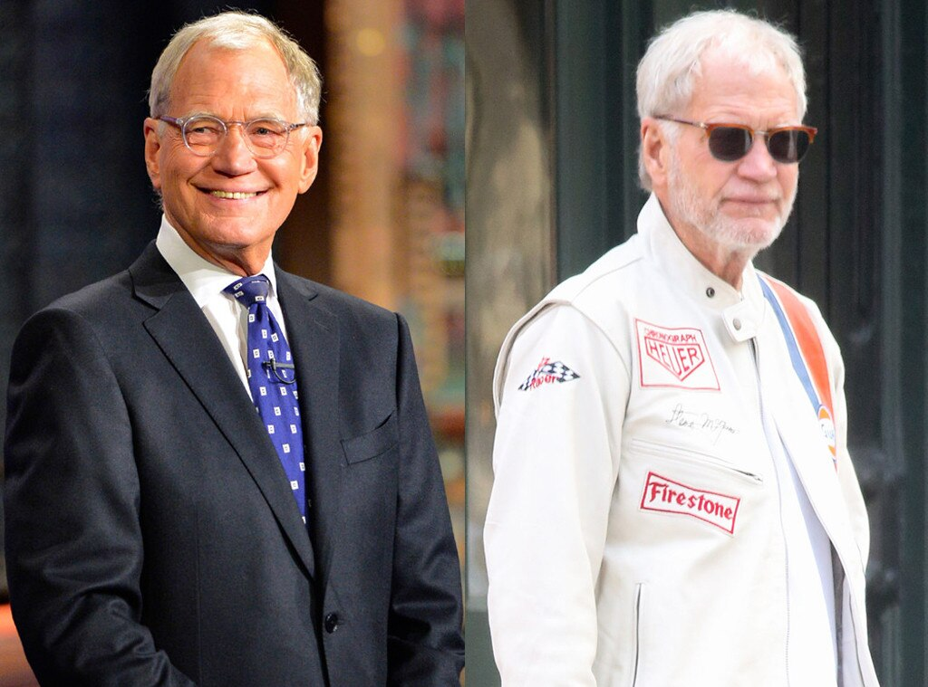 David Letterman, Beard