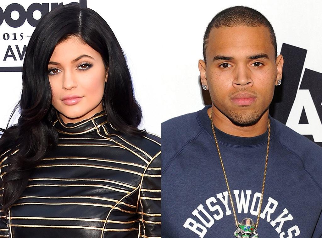 Kylie Jenner, Chris Brown