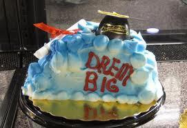 grad cakes
