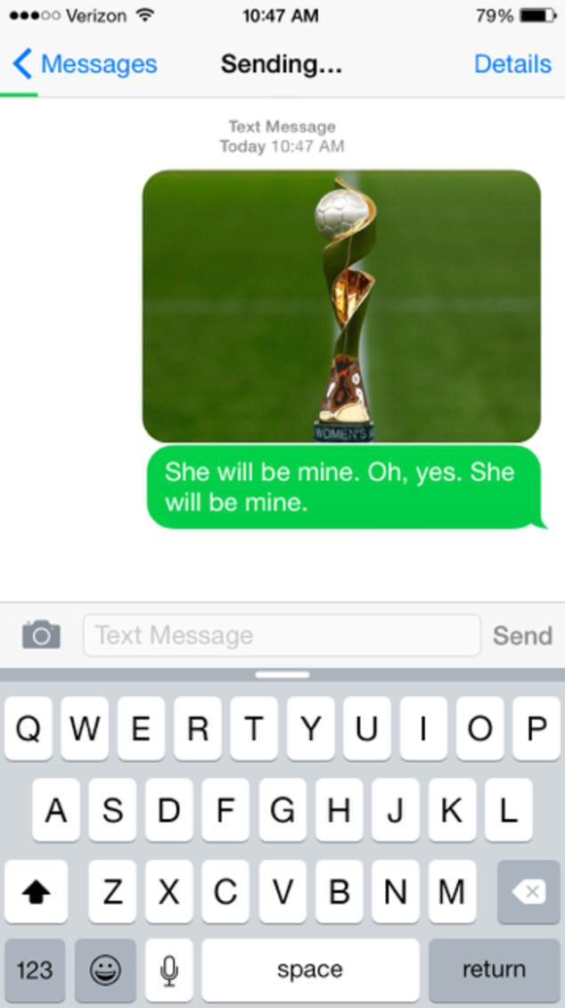 World Cup Smack Talking Texts