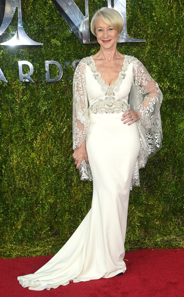 Helen Mirren, 2015 Tony Awards