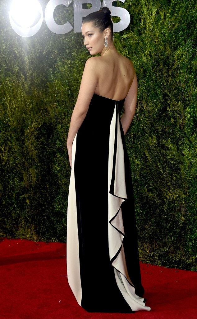 Bella Hadid, 2015 Tony Awards