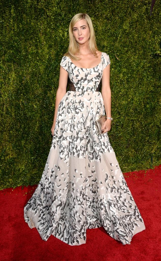 Ivanka Trump, 2015 Tony Awards