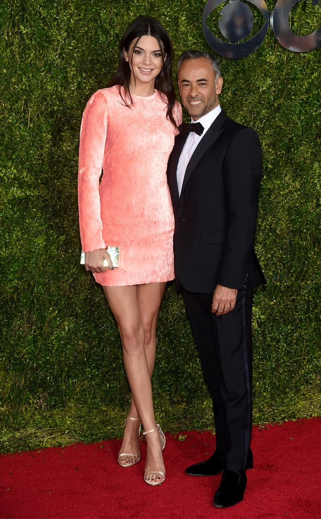Francisco Costa, Kendall Jenner,  2015 Tony Awards