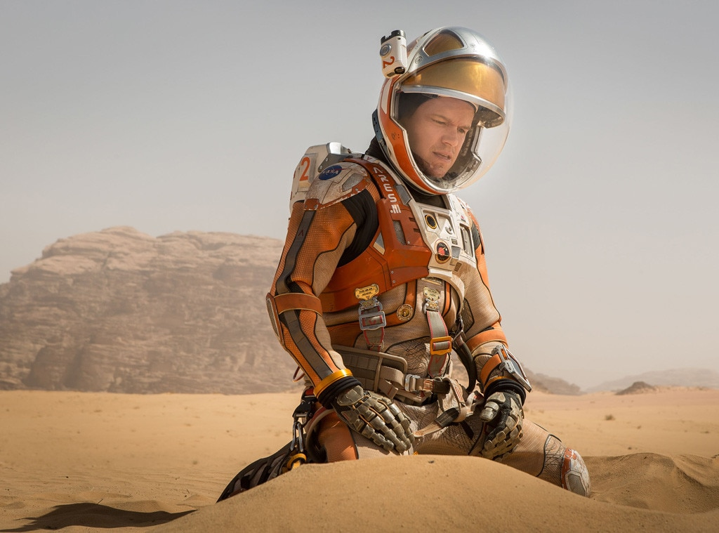 The Martian, Matt Damon