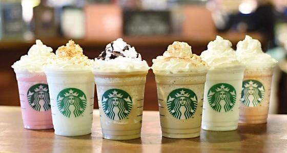Starbucks new fraps