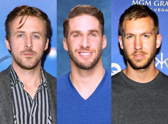 Ryan Gosling, Shawn B., Calvin Harris