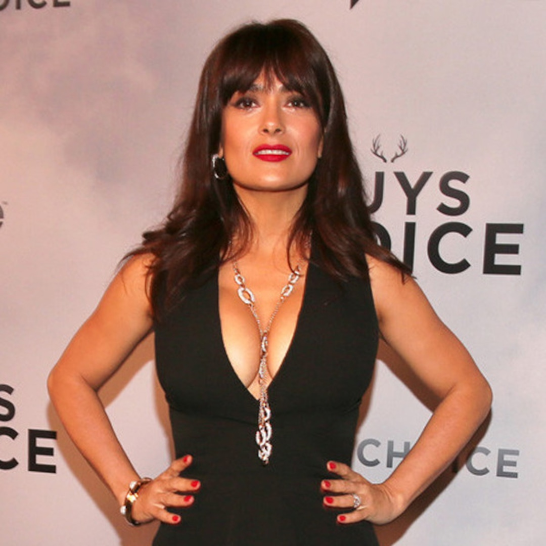 Salma Hayek Goes Topless: At My Age, Its Exciting | E! News