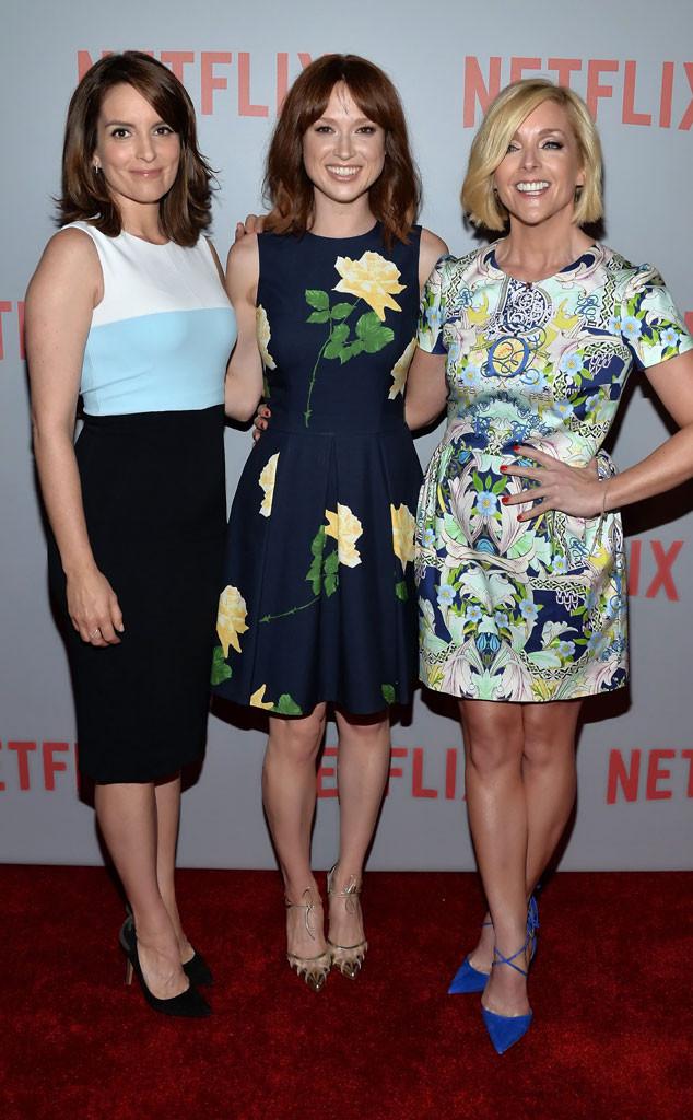 Tina Fey, Ellie Kemper, Jane Krakowski