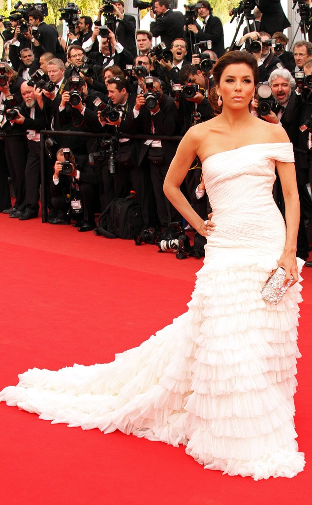 Eva Longoria from 17 Red Carpet Dresses That Could Totally Be Bridal ...