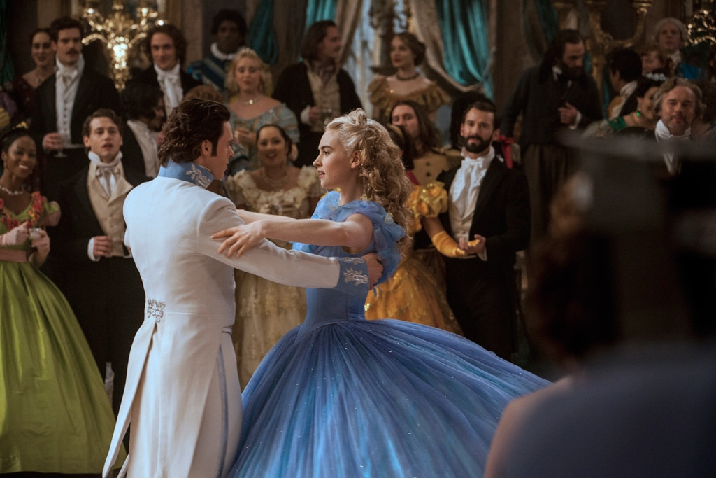 Cinderella  -  The next Disney classic to get the live-action treatment was  Cinderella  in 2015. Directed by  Kenneth Branagh , the film starred  Lily James  in the titular role, with  Richard Madden  as her prince,  Helena Bonham Carter  as her fairy godmother, and  Cate Blanchett  as her evil stepmother Lady Tremaine.