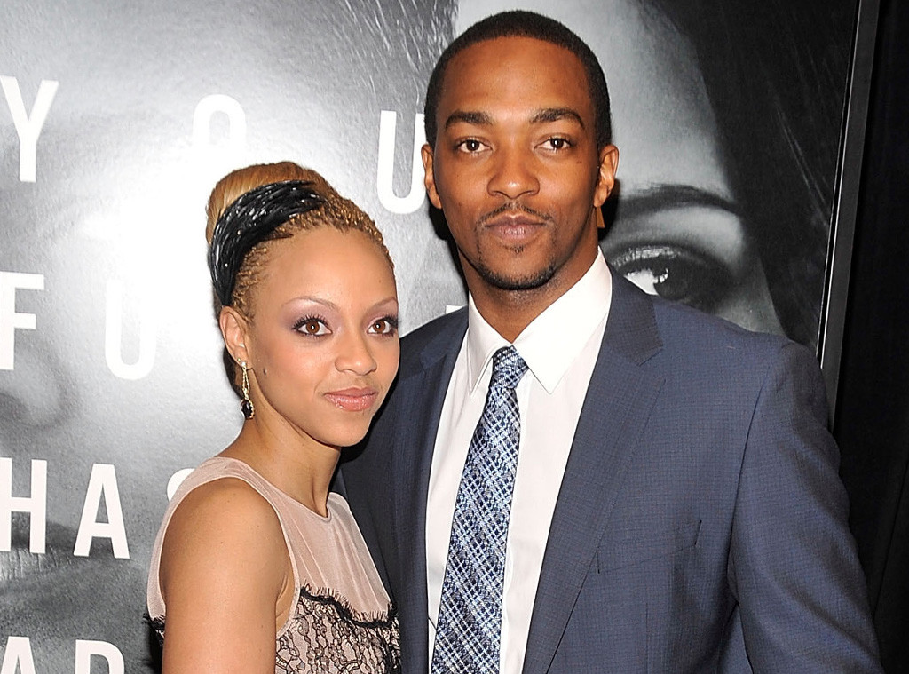 Anthony Mackie Surprises Us With News That Hes Welcomed His Third Child - E! Online