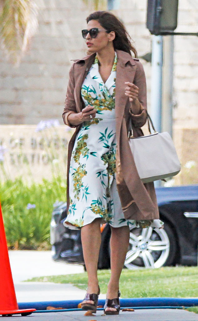 Eva Mendes, Floral Dress