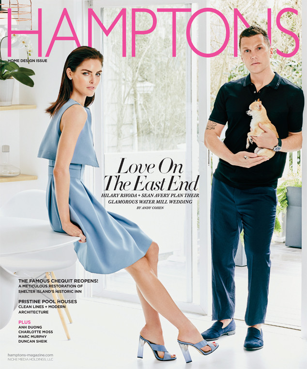Hilary Rhoda, Sean Avery, Hamptons Magazine
