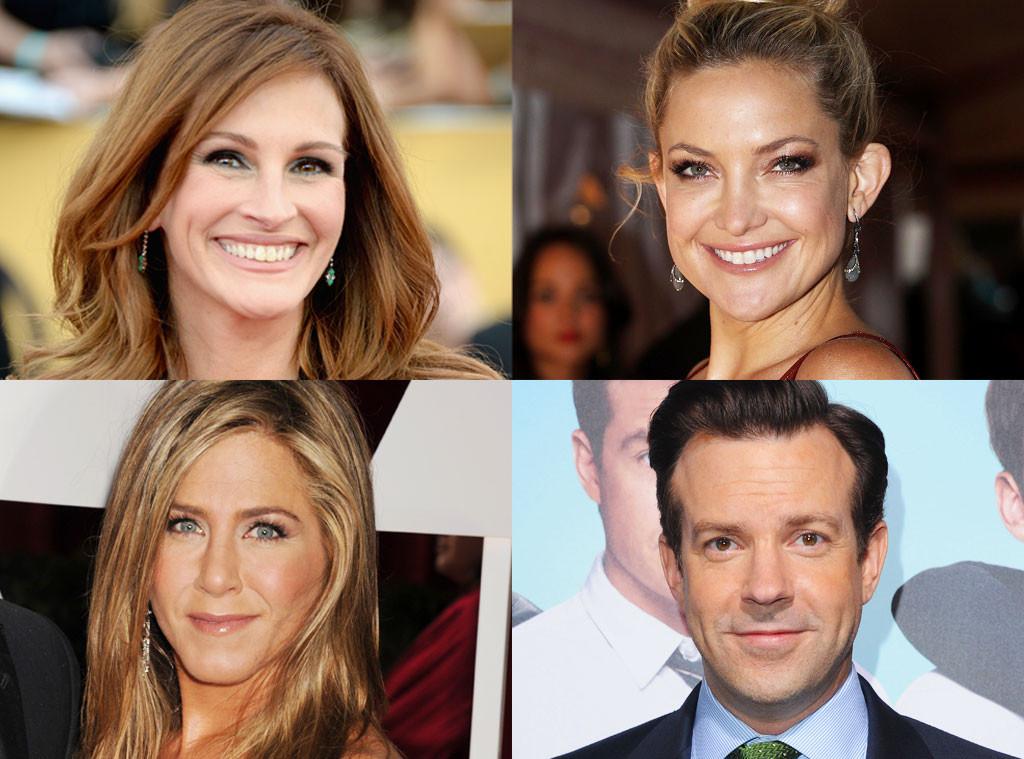 Julia Roberts, Kate Hudson, Jennifer Aniston & Jason Sudeikis