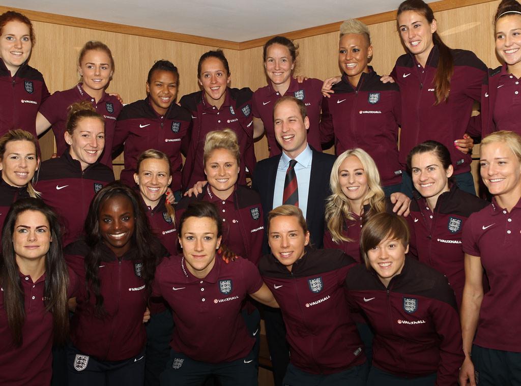 Prince William, Duke of Cambridge, England World Cup Team
