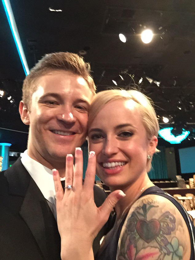 twilight star michael welch proposes to his girlfriend on