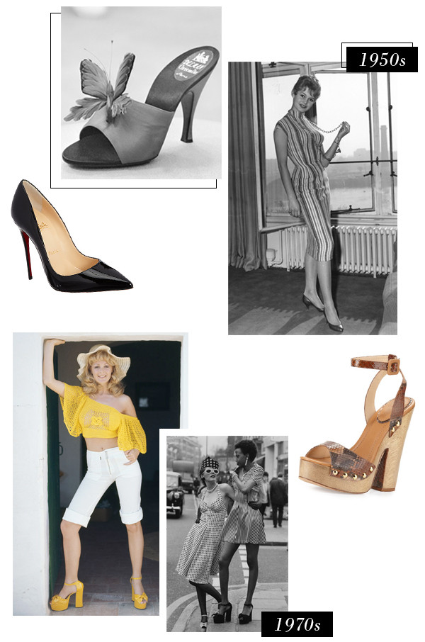 ESC, History of High Heels