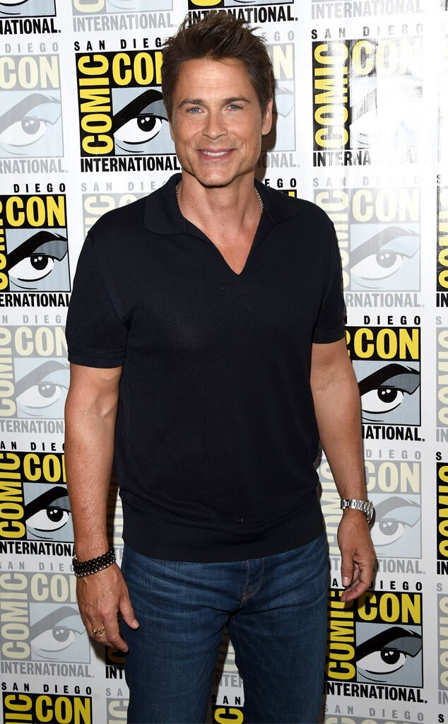 Rob Lowe, Comic-Con