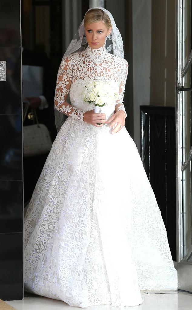 Omarosa From Celeb Wedding Dresses E News