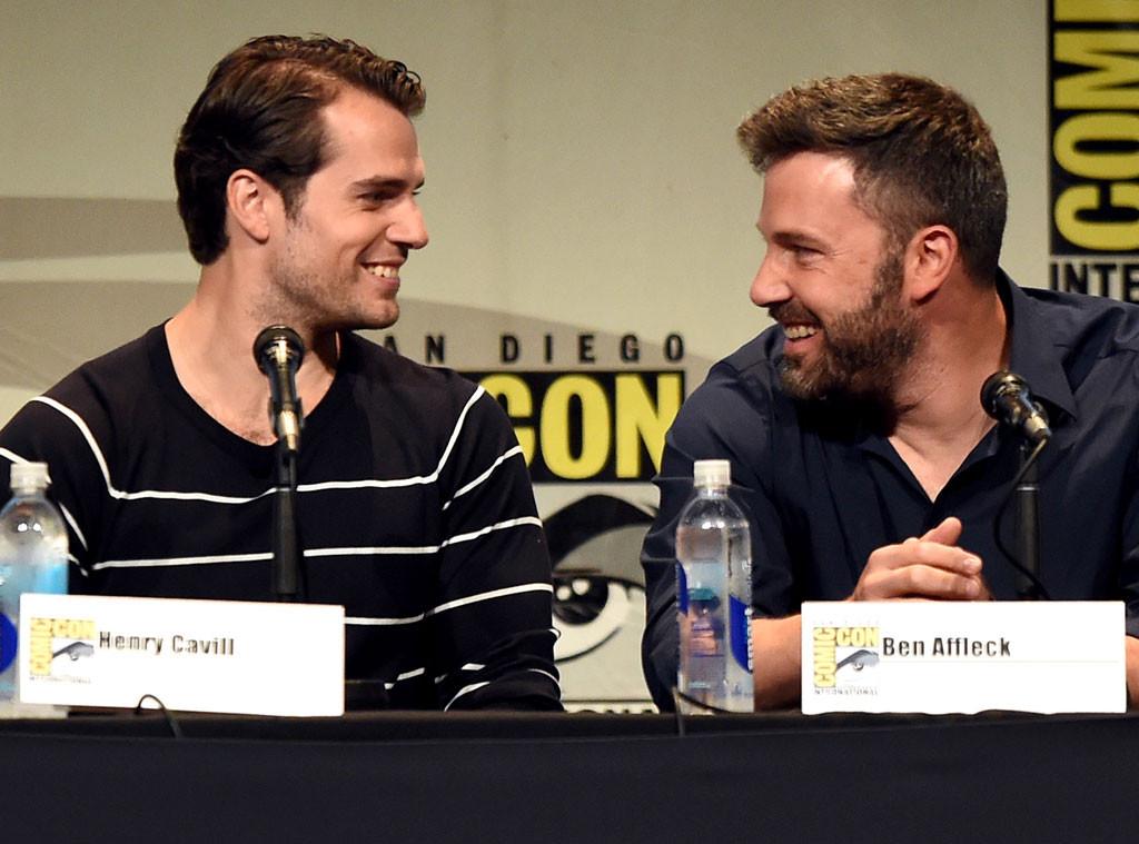 Ben Affleck, Henry Cavill, Comic-Con