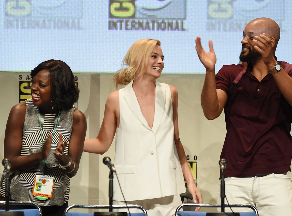 Comic-Con, Viola Davis, Margot Robbie, Will Smith