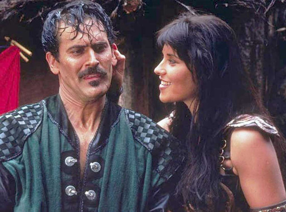 Xena, Lucy Lawless, Bruce Campbell