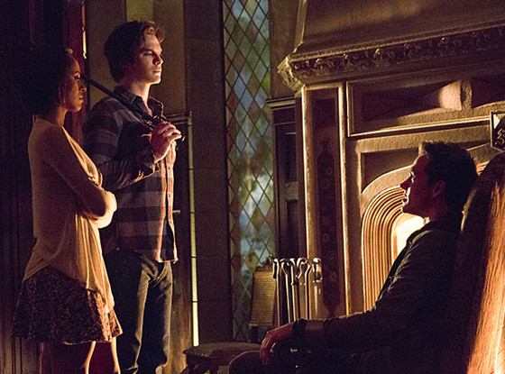 The Vampire Diaries, Ian Somerhalder, Chris Wood