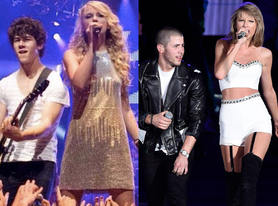 Nick Jonas, Taylor Swift