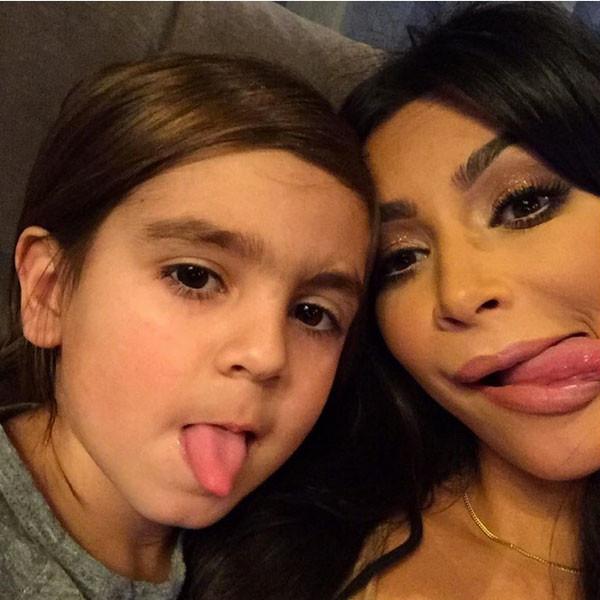 Kim Kardashian Instagram, Mason Disick