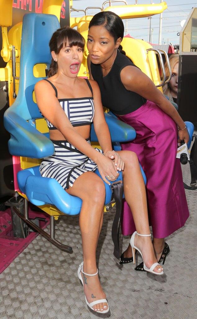 Lea Michele, Keke Palmer, Comic-Con