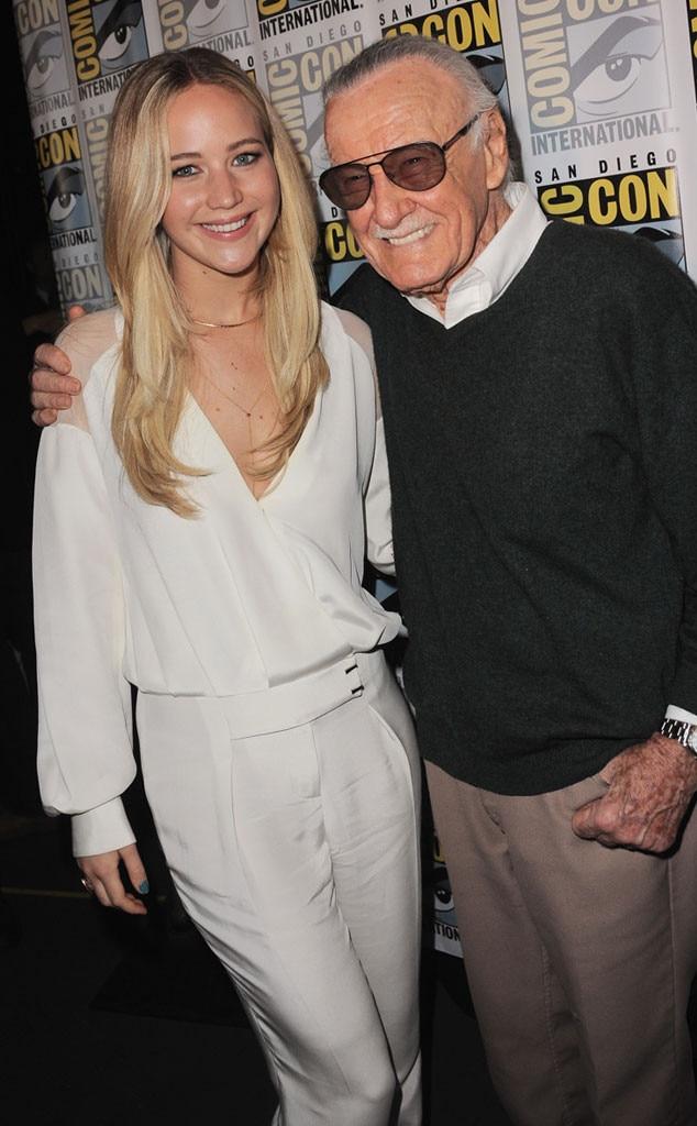 Jennifer Lawrence, Stan Lee, Comic-Con