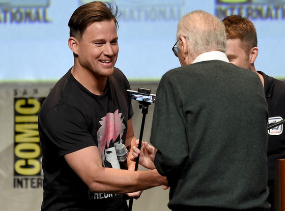 Stan Lee, Channing Tatum, Comic-Con