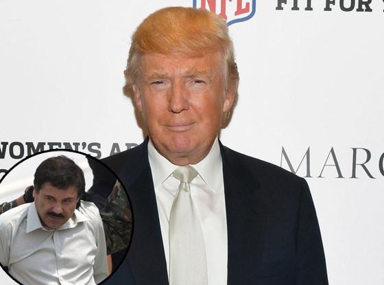 Donald Trump, Joaquin Guzman Loera