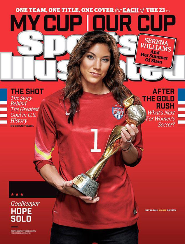 Sports Illustrated, U.S. Womens National Soccer Team, Hope Solo