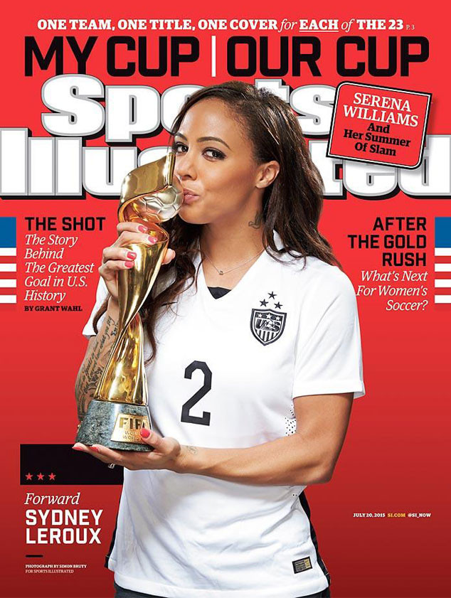 Sports Illustrated, U.S. Womens National Soccer Team, Sydney Leroux