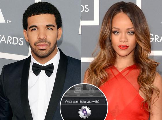 Rihanna, Drake, iPhone Siri