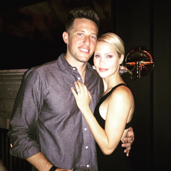 Claire Holt, Matt Kaplan, Engaged