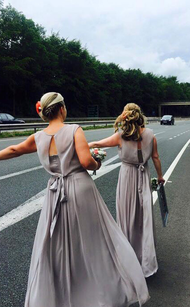 Broken Down Bridal Party