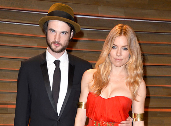 Tom Sturridge, Sienna Miller, Vanity Fair Oscar Party