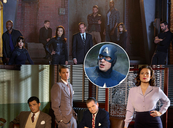 Marvel, Agents of SHIELD, Agent Carter, Captain America