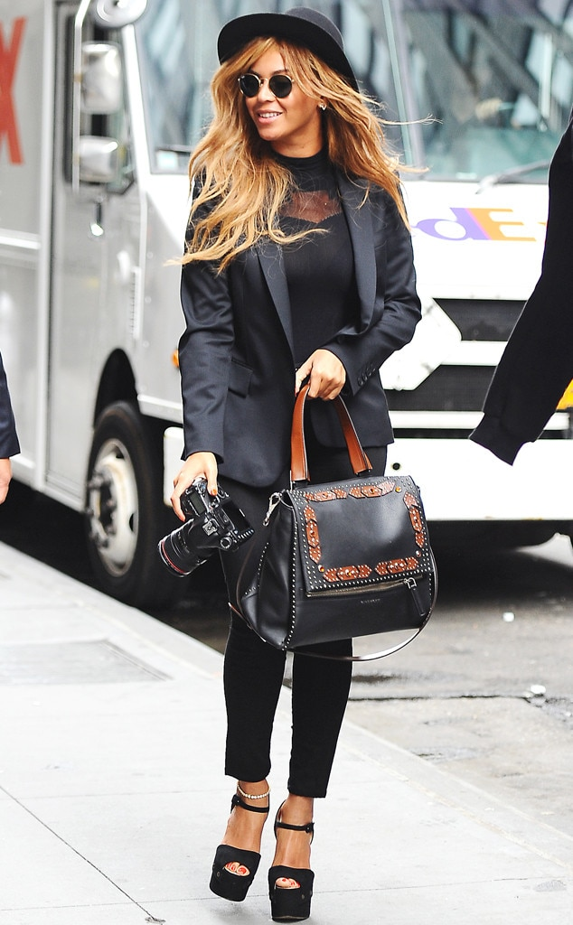 So Sharp, So Chic from Beyoncé's Street Style | E! News